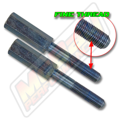 "13-6501 - 3/8"" Top Stud 2"" Shock Extender Set Fine Thread"