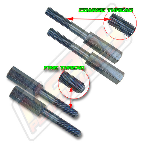 "13-65XX - 3/8"" Top Stud 2"" Shock Extender Set 