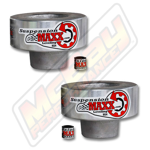 """SMX-10350- 2005-2018 Ford F250 F350 F450 4X4 Super Duty 2.5"""" Front Leveling Lift Kit 