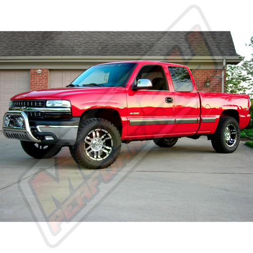 "SMX-MC2 - 3"" Front Torsion Bar Key Leveling Kit Installed on a Silverado"