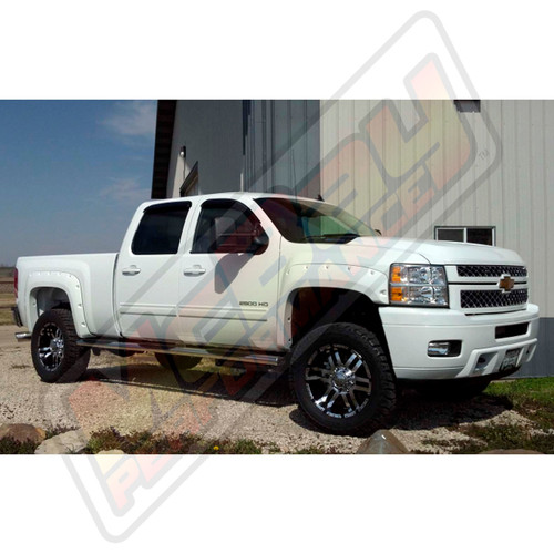 "SMX-MC3 - 2011-2014 Chevrolet Silverado & GMC Sierra 2500 3500 4X4 2.5"" Front Lift Leveling Kit Installed"
