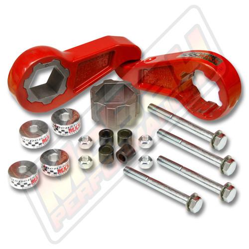"SMX-MC3 - 2011-2014 Chevrolet Silverado & GMC Sierra 2500 3500 4X4 2.5"" Front Lift Leveling Kit | McBay Performance"