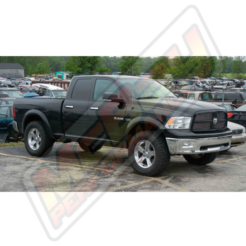 "SMX-RM610 - 2009-2018 Dodge Ram 1500 4x4 2.75"" Adjustable Front Lift Leveling Kit Installed"