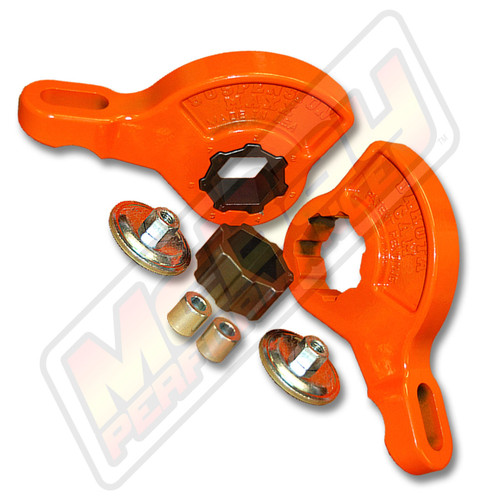 "SMX-RMCJR - 1997-2004 Dodge Dakota Durango 4X4 2.5"" Front Torsion Bar Key Leveling Kit 