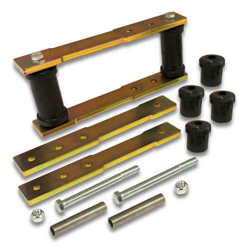 "SK-5007 - 1"" to 4"" Rear Shackle Lift Kit for 1960's-1970's Ford Mustang Falcon Mercury Comet Cougar 