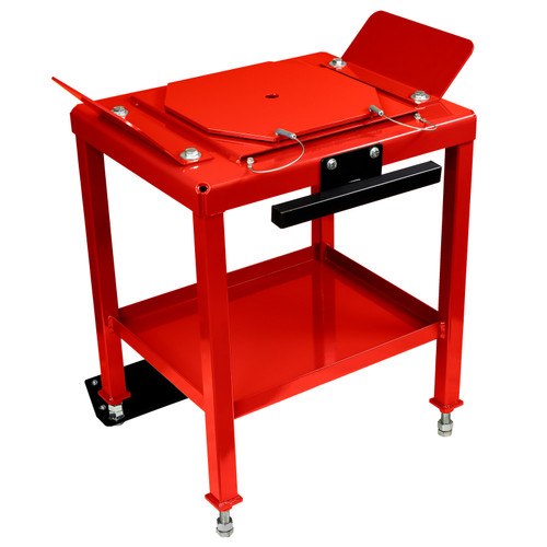 "DB28 - 28"" Portable Medium Duty Alignment Stand Set with Built-In Turn Plates & Slip Plates 