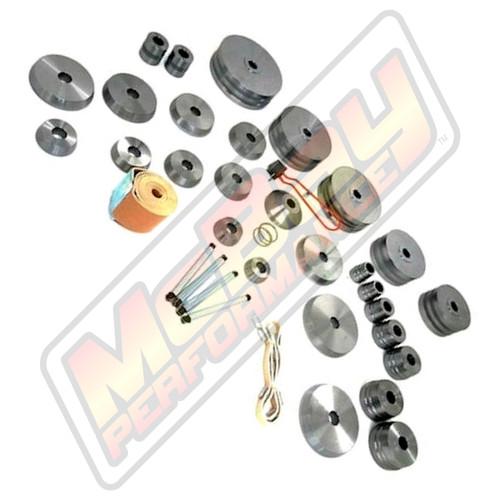 "10009 - Premium Complete Brake Lathe Cone & Adapter Set - 1"" Arbor | McBay Performance"