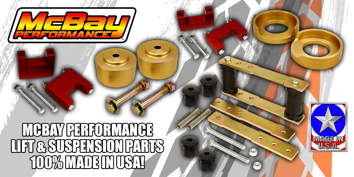McBay Performance Lift & Suspension Parts - Made In USA