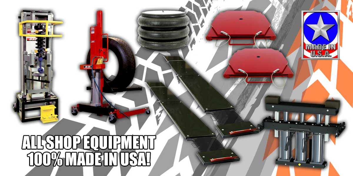 Made in USA Automotive Shop Equipment from McBay Performance