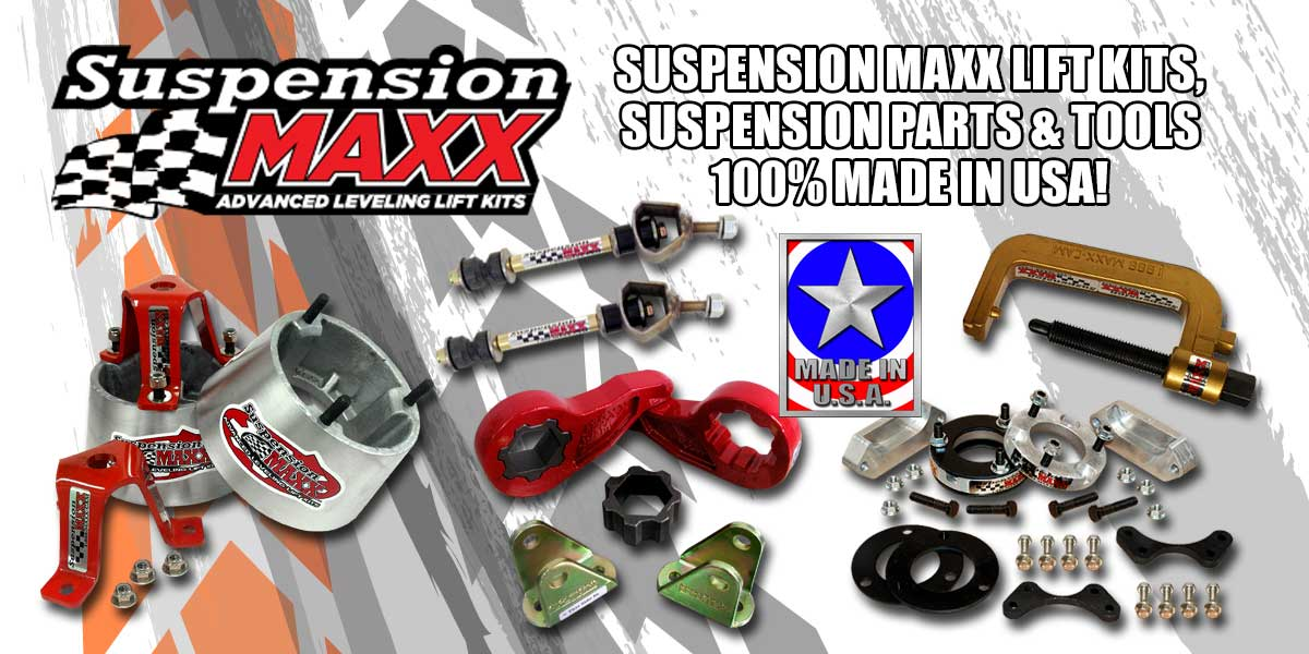 Suspension Maxx Truck Lift Kits - Made In USA