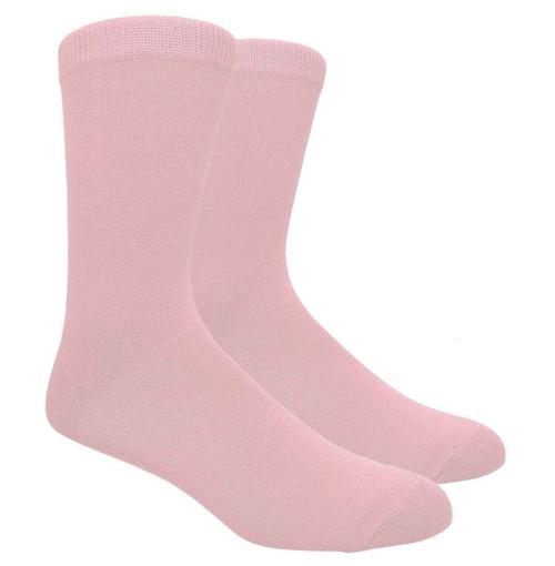 FineFit Plain Dress Socks - Light Pink - 1 Dozen