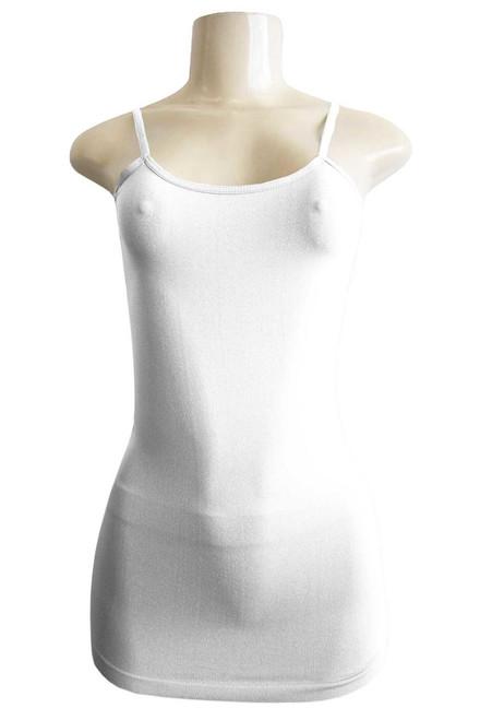 F&F Women's Camisole - White (10 pieces)