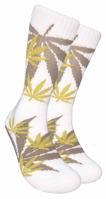 LEAF Republic Marijuana Print Crew Socks (LF009)