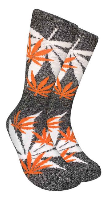 LEAF Republic Marijuana Print Crew Socks (LF033)