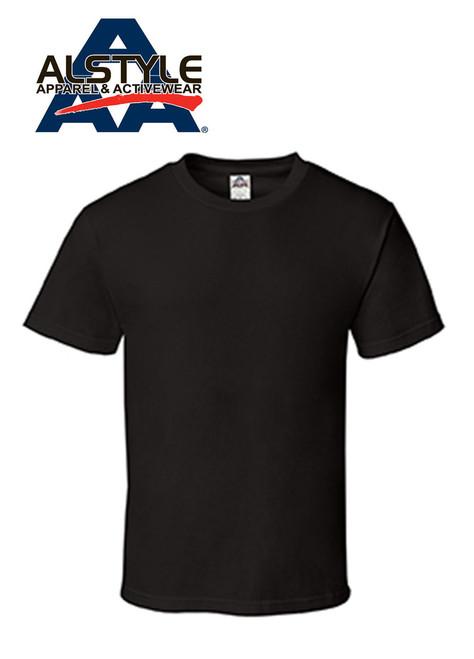 Alstyle Apparel & Activewear (AAA) Color T-Shirt / (1 qty = Half dozen, 6 pieces)