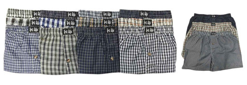 Hi-Lite Assorted Boxer Shorts (Size: S - 3XL) - 1 Dozen