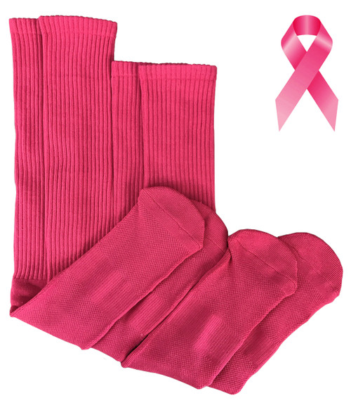 Running Mate Tube Socks - Pink (SR214P) - 1 Dozen