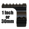WICKED LIGHTS GEN 3 QUICK DETACH ADJUSTABLE LIGHT MOUNT WITH LOCK LEVER AND PICATINNY SCOPE MOUNT COMBO PACK