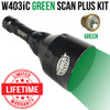 Wicked Lights W403iC Green Scan Plus Night Hunting Light Kit for hog, coyote, and predators