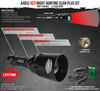 Wicked Lights A48iC RED Scan Plus Night Hunting Light Kit for coyotes, hogs, and predators