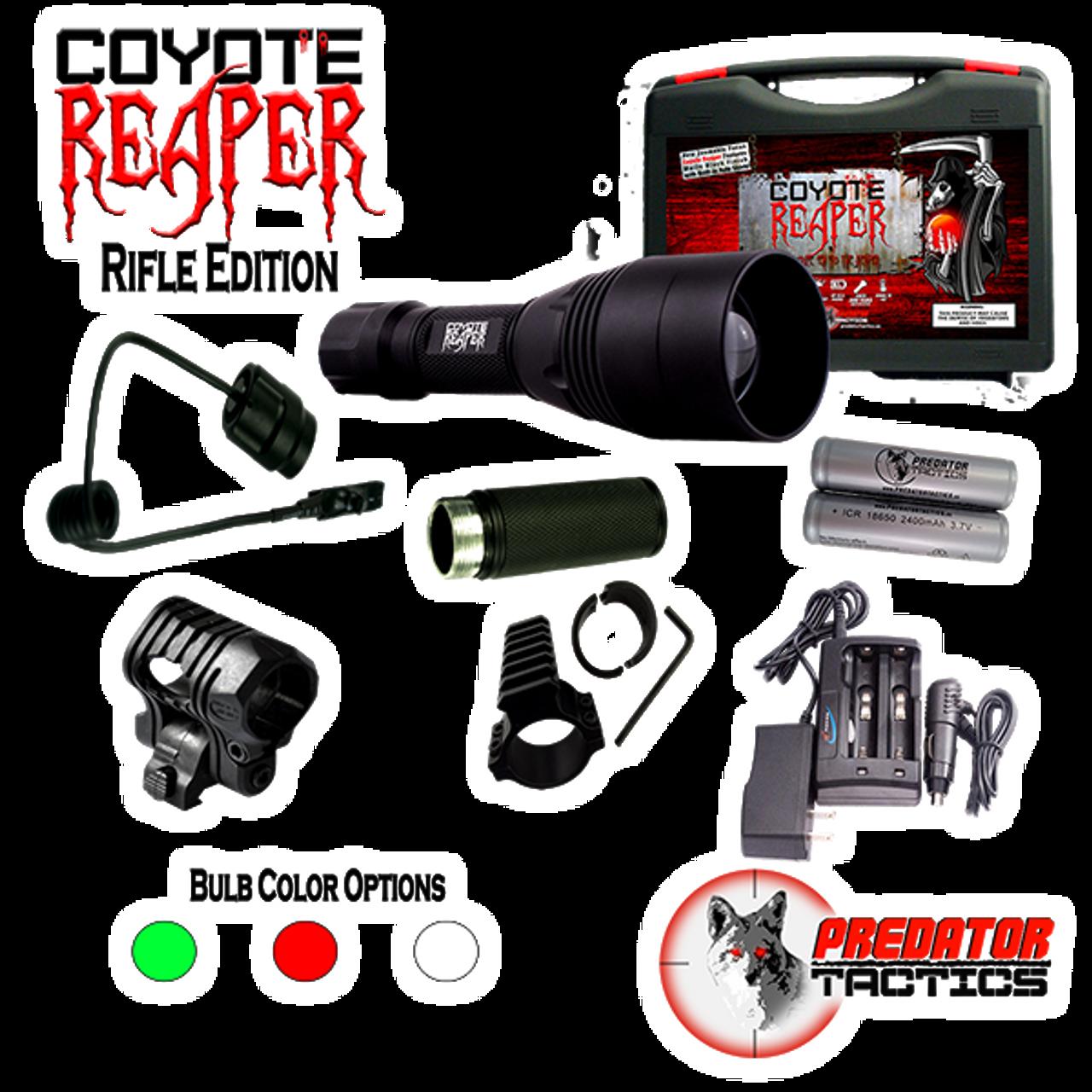 Predator Tactics Coyote Reaper XXL Green//Red//White LED Kit Night Hunting Light