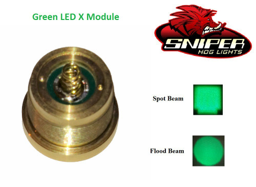 Green LED X Module