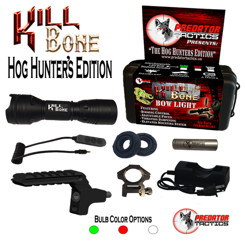 Predator Tactics: KillBone Hog Hunter's Edition (Triple LED Kit)