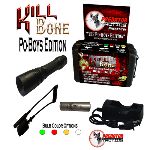 Predator Tactics: Po-Boys Edition (4 LED Kit)