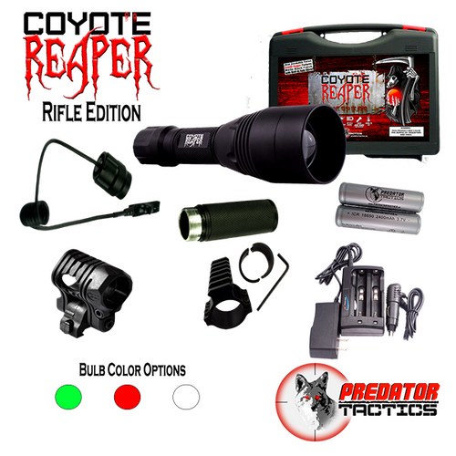 Predator Tactics: Coyote Reaper- Rifle Edition (GREEN LED)