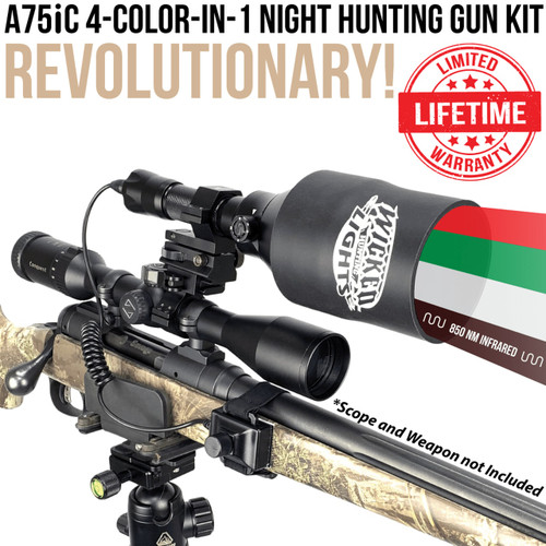 A75iC 4-color-in-1 Night Hunting Light Kit