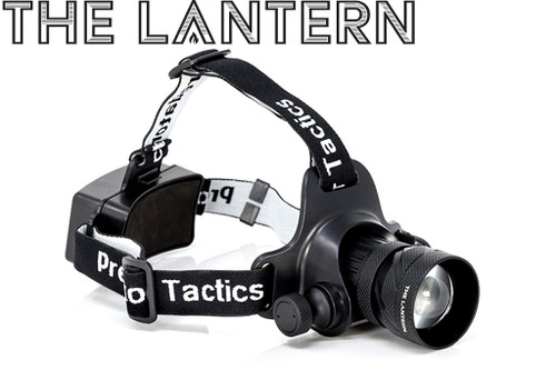 PREDATOR TACTIC'S THE LANTERN HEADLAMP 97452 RED & WHITE