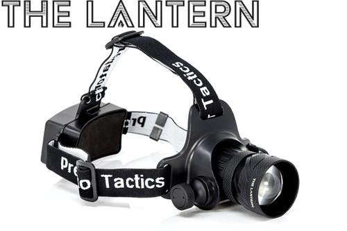 PREDATOR TACTIC'S THE LANTERN HEADLAMP 97452 RED & WHITE