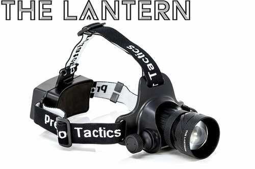 PREDATOR TACTIC'S THE LANTERN HEADLAMP 97452 GREEN & WHITE