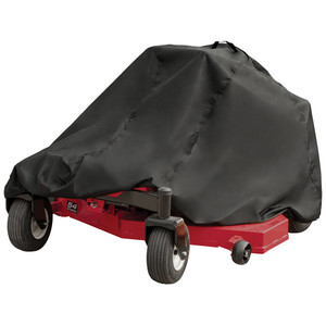 "Dallas Manufacturing Co. 150D Zero Turn Mower Cover - Model B Fits Decks Up To 60"" [LMCB1000ZB]"