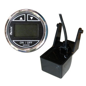 "Faria Chesapeake SS Black 2"" Depth Sounder w\/Transom Mount Transducer [13750]"