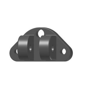 Lenco Marine 50015-001D Standard Upper Mounting Bracket 3 Screws 1 Wire