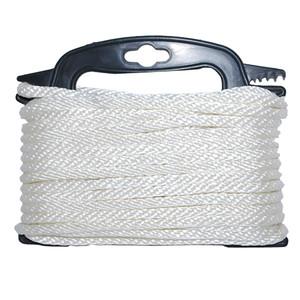 """Attwood Braided Nylon Rope - 3\/16"""" x 100' - White [117553-7]"""
