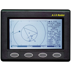 Clipper AIS Plotter\/Radar - Requires GPS Input  VHF Antenna [CLIP-AIS]
