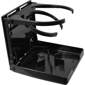 Attwood Fold-Up Drink Holder - Dual Ring - Black [2445-7]