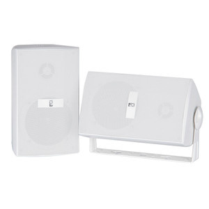 Poly-Planar Compnent Box Speakers - (Pair) White [MA3030W]