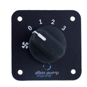 Albin Pump Marine Control Panel 4kW, 9kW  12kW - 12\/24V [09-66-017]