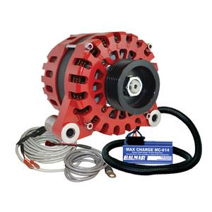 Balmar Alternator Vortec K6 Serpentine Pulley Regulator  Temp Sensor - 170A - 12V [XT-VT-170-K6-KIT]