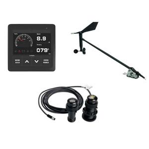 VDO Navigation Kit f\/Sail, Wind Sensor, Transducer, Display  Cables [A2C1352150002]