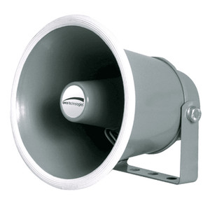 "Speco 6"" Weather-Resistant Aluminum Speaker Horn 8 Ohms [SPC10]"