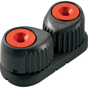 Ronstan Medium Alloy Cam Cleat - Red, Black Base [RF5510R]