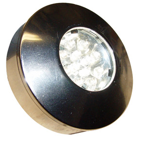 Aqua Signal Bamako Round LED Headliner Light - Recessed\/Surface Mount - Chrome\/Plastic Housing [16520-7]