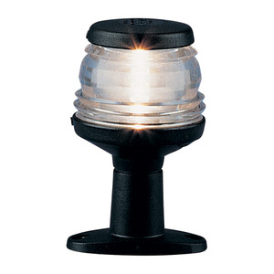 "Aqua Signal Series 20 4"" All-Round Pedestal Light - Black Housing [20040-7]"