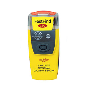 McMurdo FastFind 220 PLB - Personal Locator Beacon [91-001-220A-C]