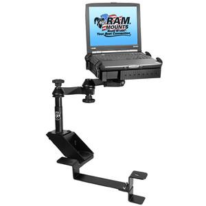 RAM Mount No-Drill Laptop Mount f\/Chevrolet 2500 C\/K, 3500 C\/K, Silverado, Suburban, Tahoe, GMC Sierra & Yukon [RAM-VB-102-SW1]