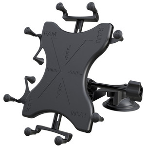 RAM Mount Dual Suction Cup Mount w\/Large Table X-Grip [RAM-B-189-UN9-ALA1-KRU]